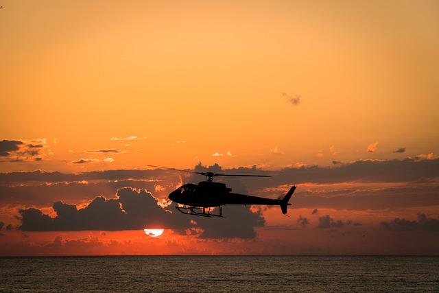 中古ヘリコプターを購入して節税